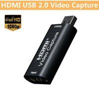 4K 1080P HDMI to USB 2.0 Video Capture Card Recorder Game&Video Live Stream