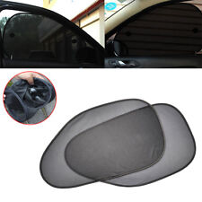 1Pair Car Side Rear Window Sun Shade Cover Shield Sunshade UV Protection Black