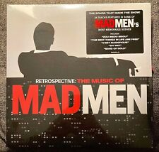Retrospective: The Music of Mad Men - Vinyl LP - RARE - Brand New