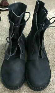 NEW TRIPPEN  LEATHER  BLACK BOOT SIZE 41