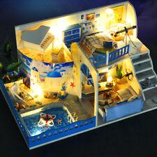 3D Realistic Miniature Dollhouse Kit DIY Mini Wooden Doll House Room DIY Present