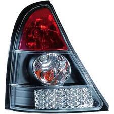 Coppia fari fanali posteriori TUNING RENAULT CLIO, 01-05 LED neri
