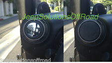 JK Easy DOORLESS VENT Side Mirrors Jeep Wrangler OffRoad Rock 4x4 Trail FREE S&H