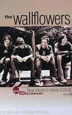 The Wallflowers 2005 Rebel, Sweetheart Original Promo Poster Jakob Dylan