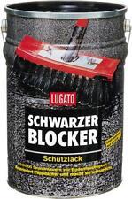 Lugato Schwarzer Blocker Schutzlack Bitumenanstrich Lack Dach & Mauern 10 l