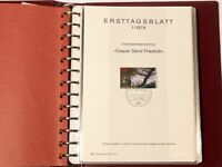 31 x 1970s German FDC First Day Sheets Ersttagblatt  33 Photos of Album Pages