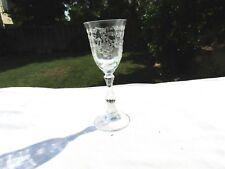 "Crystal Clear Fostoria Navarre Cordial Glass 3 7/8"""
