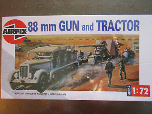 Airfix 88mm Gun and Tractor 1:72 suit OO Lot 4