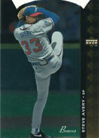 Steve Avery 1994 Upper Deck SP Die-Cut #47 Atlanta Braves Baseball Card