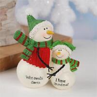 """NEW Blossom Bucket Snowman """" I Have Grandma """" Snowman SUZI SKOGLUND"""