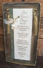 Mk Nip Roman, Inc #71821B Best Friend's Prayer Scroll Wall Hanging Plaque