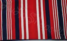"Boat House Beach Towel red white blue stripes 36"" x 70"" Boathouse Pool Bath Park"
