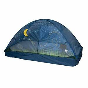 Pacific Play Tents Glow in The Dark Firefly Bed Tent 77 In X 38 in X 35 in