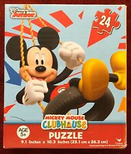 Mickey Mouse Clubhouse Puzzle 24 Pieces Jigsaw Puzzle Swinging New Sealed