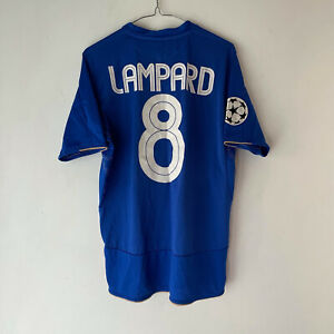 UMBRO CHELSEA 2003-2005 HOME SHIRT. FRANK LAMPARD. SIZE M ADULTS