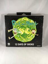 Rick and Morty 12 Days of Socks Gift Set Adult Swim Advent