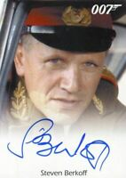 James Bond 50th Anniversary Series Two Steven Berkoff Autograph Card