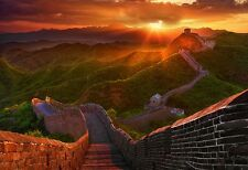 Brand new Peter Lik 1M recess mounted THE GREAT WALL signed LTD. ED. with C.O.A