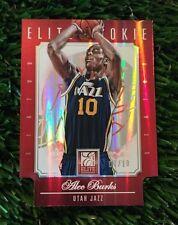 ALEC BURKS 2012-13 ELITE  ELITE ROOKIE GOLD STATUS DIE CUT RC #212 #D /10