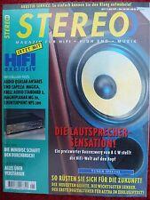 STEREO 5/95 AUDIO QUASAR,MAGNEPLANAR MG 20,KRELL AUDIOSTANDART 2,DENON S 10 SERI