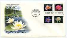 4964-67 Waterlilies on one ArtCraft FDC