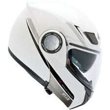 Givi X08 X-Modular Flip Front Motorcycle Motorbike Crash Helmet White 63cm