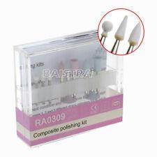 HOT 1KIT Dental Composite Polishing Low Speed Handpiece Diamond Burs RA-0309 IT
