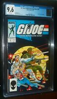 G.I. JOE, A REAL AMERICAN HERO #61 1987 Marvel Comics CGC 9.6 NM+ White Pages