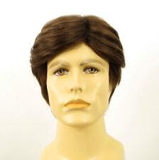 Short Wig For Men Natural Hair dark Blond Ref BERNARD 8