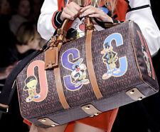 AW15 Moschino Couture Jeremy Scott Looney Tunes Montgomery Borsa da Viaggio
