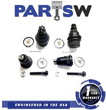 Completer Set Of 4 Ball Joints Pair Of 2 Upper And 2 Lower Front Suspension Kit