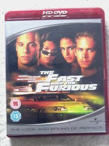 15586 HD DVD - The Fast and the Furious  2001  824 719 6
