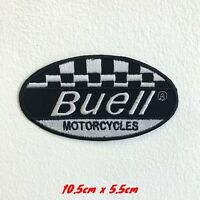Buell Motorcycles Motorsports racing biker badge Iron on Embroidered Patch#1589
