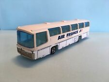 Diecast Majorette Neoplan Bus Air France No. 373 1/87 Wear & Tear Good Condition