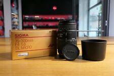 Sigma 70-300mm F/4-5.6 DL Macro AF Für Canon EF Autofocus