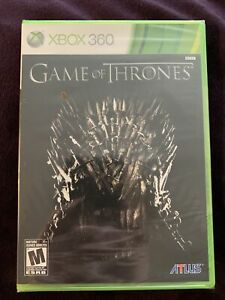 Game of Thrones RPG Video Game New Sealed Microsoft Xbox 360 2012 Rated M Mature
