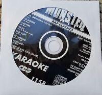 RAP CLASSICS KARAOKE CDG MONSTER HITS 1970'S-1990'S BABY GOT BACK HIP HOP MH1158