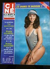 Ciné Télé Revue 4/09/1980; Suzie Burton/ Robert Redford/ Nicole Courcel/ Yul Bry