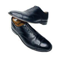Allen Edmonds Park Avenue Leather Dress Shoes Cap Toe Oxford Black Mens Sz 10 D