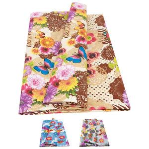 Telo arredo copri tutto cotone copridivano gran foulard poltrona divano farfalla