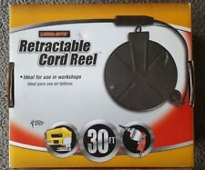 Coleman Cable 04633 Retractable Cord Reel 30FT
