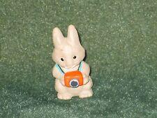 Hallmark Merry Miniature 1990 Bunny with Camera - Everyday Spring - NEW