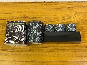 2 x Julien Macdonald Safari Fragrance Candle in Glasses Brand New Boxed