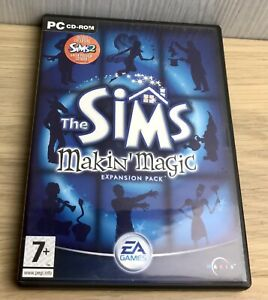 The Sims Makin Magic Expansion pack for PC Simulation Fun Family Make Your Own
