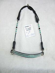 ** vip 620  Beaded Miniature/Mini Horse/Pony Show Halter/bridle  - Small size*