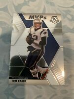"Tom Brady #298 MVP patriots legend  - MVP""s Card 2020 Panini MOSAIC Base"