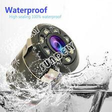 Car Rear View Camera 8LED IR Reversing Backup Parking 170°NightVision Waterproof