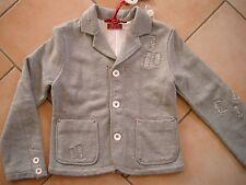(271) RARE-The Kid Boys Jacke used look Übergangsjacke Sakko Logo Besatz gr.128