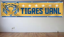 Tigres Uanl Flag Banner 2X8ft Mexico Futbol Soccer Bandera New