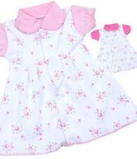 Robes rose pour fille de 0 à 24 mois en 100% coton